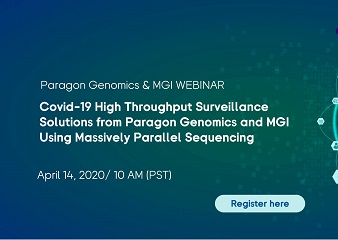 COVID-19 High Throughput Surveillance Solutions from Paragon Genomics and MGI Using Massively Parallel Sequencing