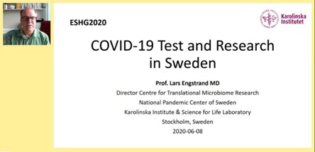ESHG | COVID-19 Test and Research in Sweden