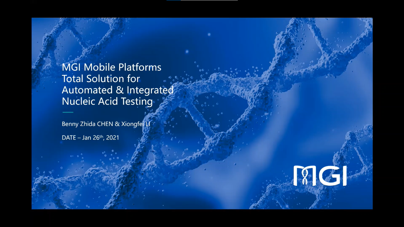 MGI Mobile Platforms Total Solution for Automated & Integrated Nucleic Acid Testing