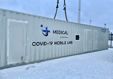 MGI's Automated & Integrated Container Laboratory Installed in Sweden Capable of Processing 21,000 Samples per Week