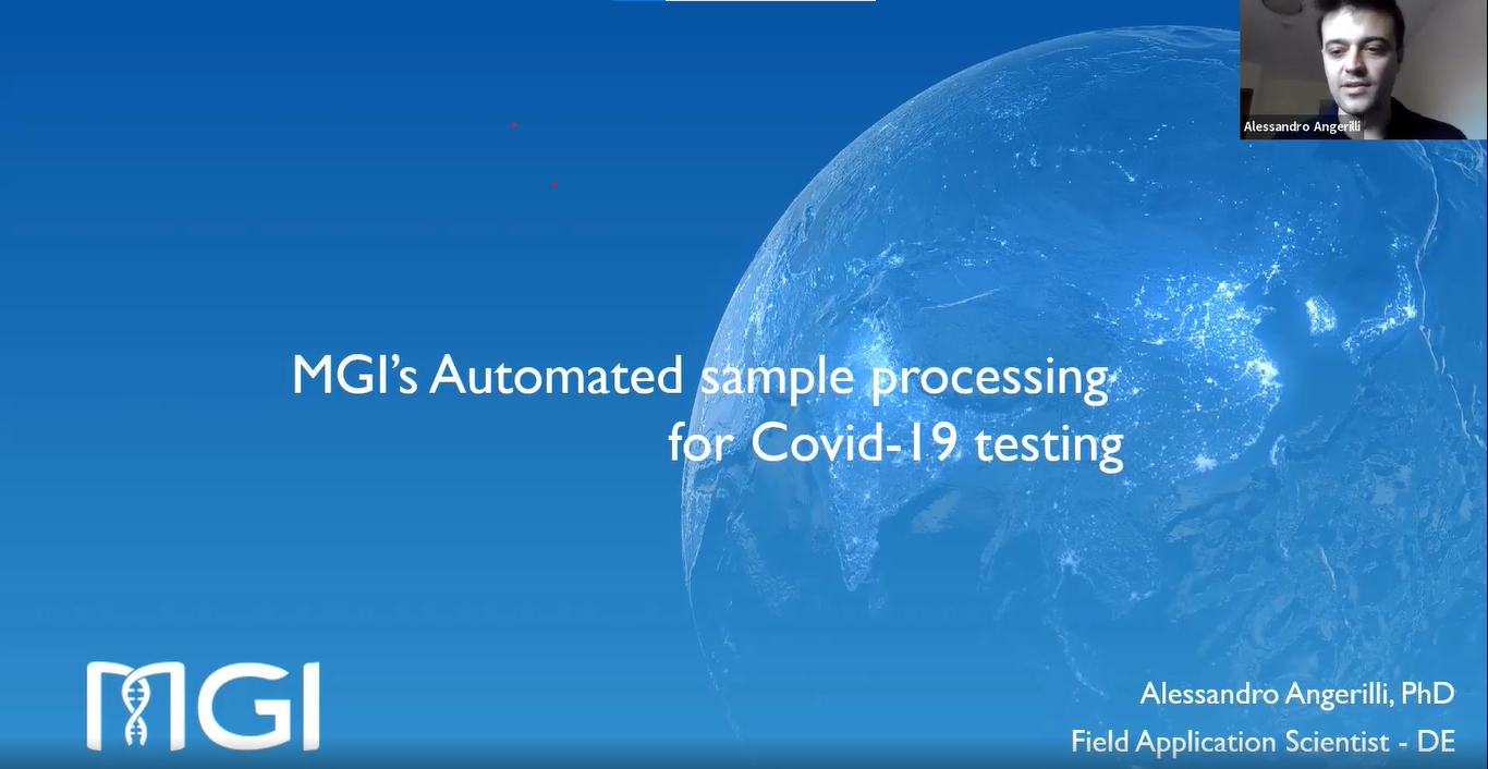 MGI's Automated Sample Processing for COVID-19 Testing (MGISP-NE384)